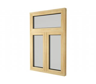 Product photography » Outward opening triple glazed window